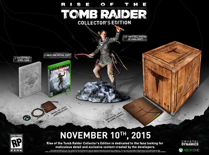 Rise of the Tomb Raider Collector's Edition Unearthed