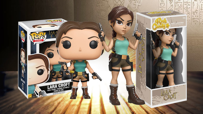 "Two new Lara Croft ""Pop!"" figures announced."