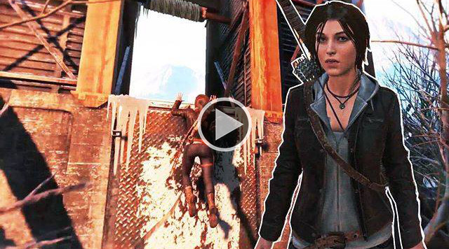 New gameplay Rise of the Tomb Raider - London Outfit