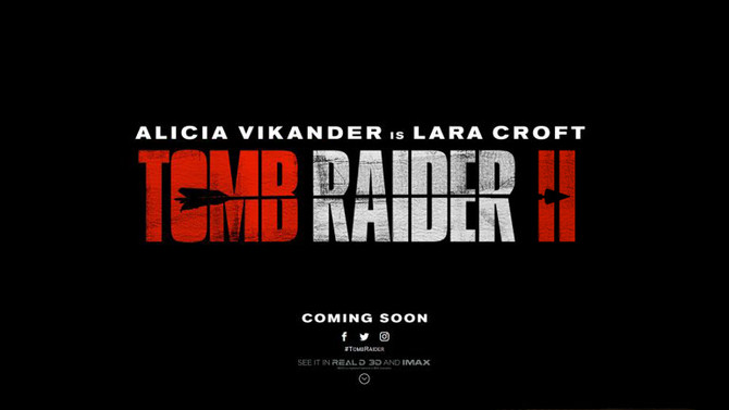 The IMDB portal lists the sequel to Tomb Raider for the year 2021