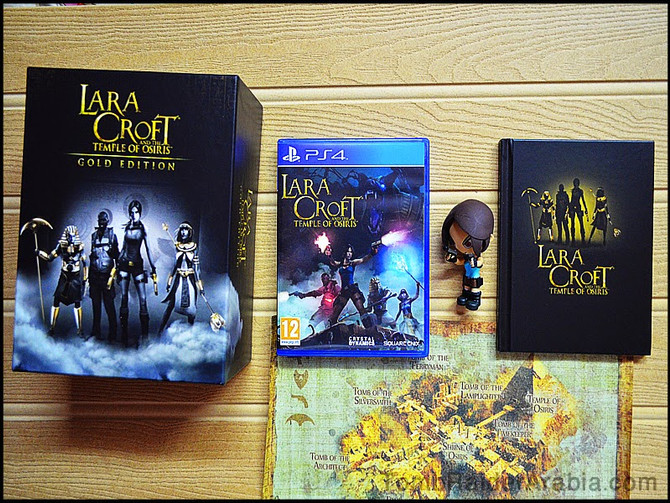 Content of the Gold Edition of Lara Croft and the Temple of Osiris