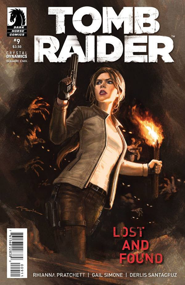 Cover of the Tomb Raider Comic nº#9 by Andy Park