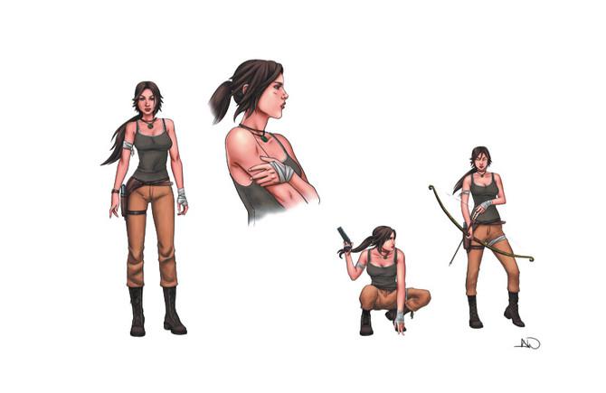 New Tomb Raider comics will return on November 22!