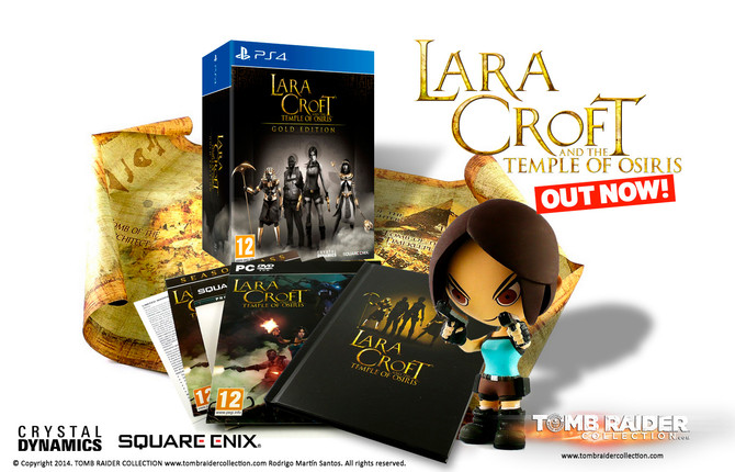 Lara Croft and the Temple of Osiris is now on sale on PC, PS4 and Xbox One