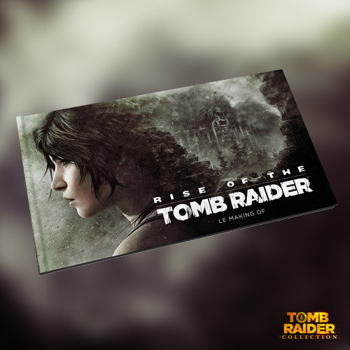 Mini-artbook of Rise of the Tomb Raider