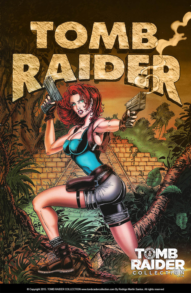 EXCLUSIVE!: Concept art of the first Tomb Raider dated in 1995