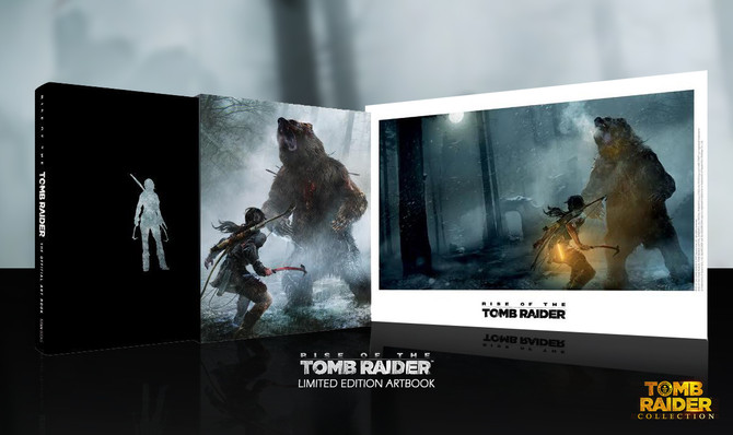 Rise of the Tomb Raider: The Official Art Book — Limited Edition