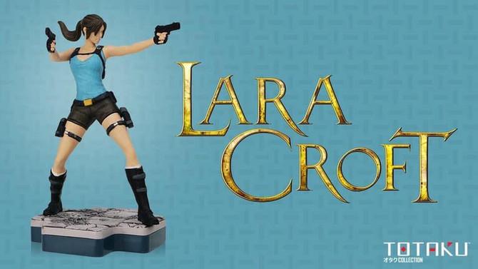 New Lara Croft, Totaku figure has been revealed.