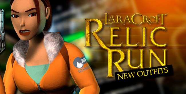 16 New outfits for Lara Croft Relic Run!