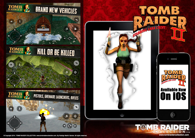 Tomb Raider II - Available Now On iOS