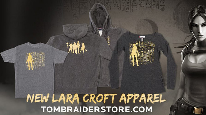 New clothes are now available of Lara Croft and the Temple of Osiris