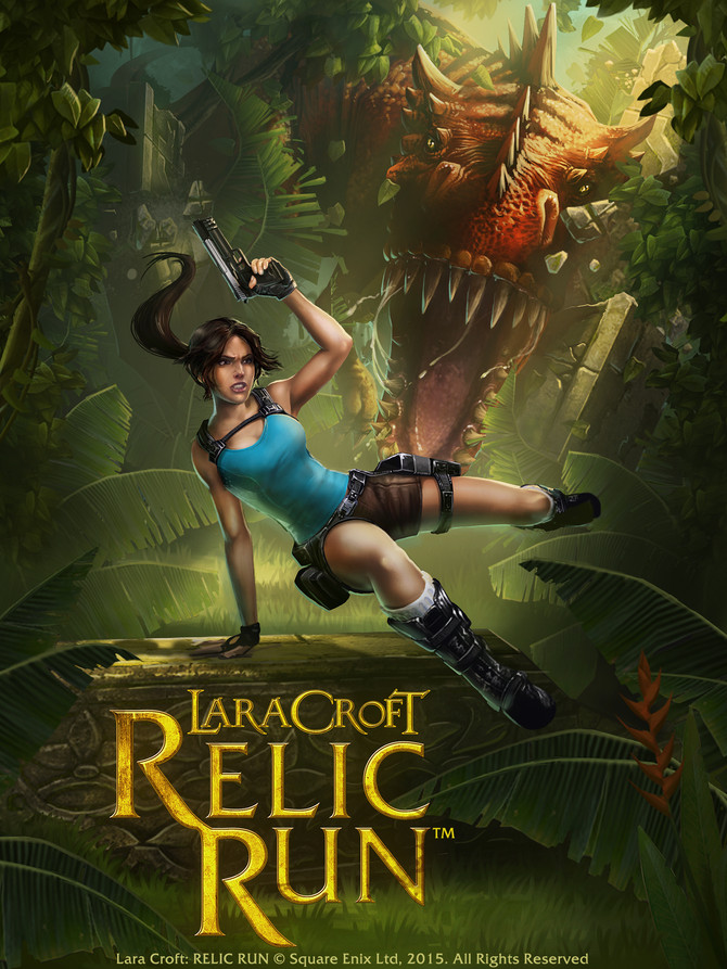 NEW GAME Lara Croft: Relic Run has been announced