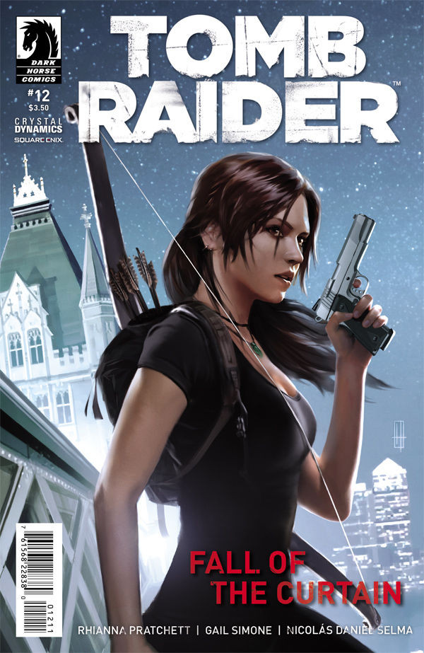 tomb raider comic 12
