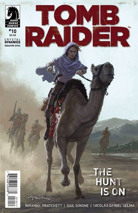 Tomb Raider #10 will be available the next 26th of November