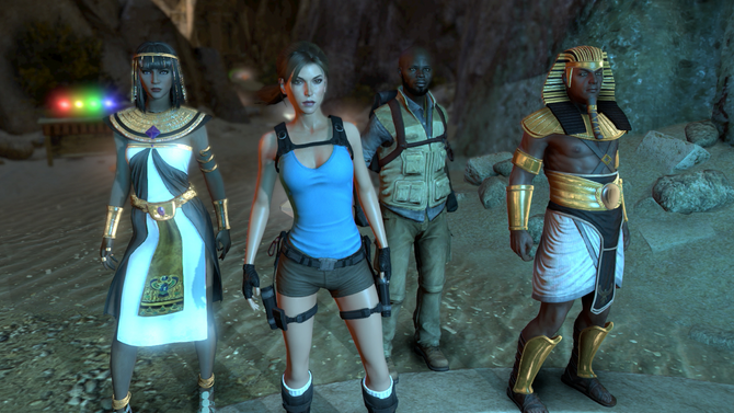 New screenshot of Lara Croft and the Temple of Osiris.