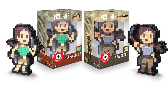Two new Tomb Raider Pixel Pals light figures!
