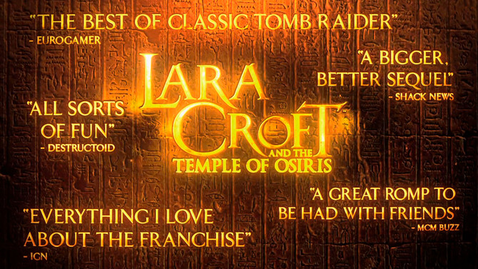 Launch Trailer of Lara Croft and the Temple of Osiris