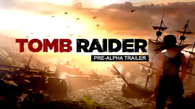 New footage about the Pre-Alpha phase of Tomb Raider (2013)