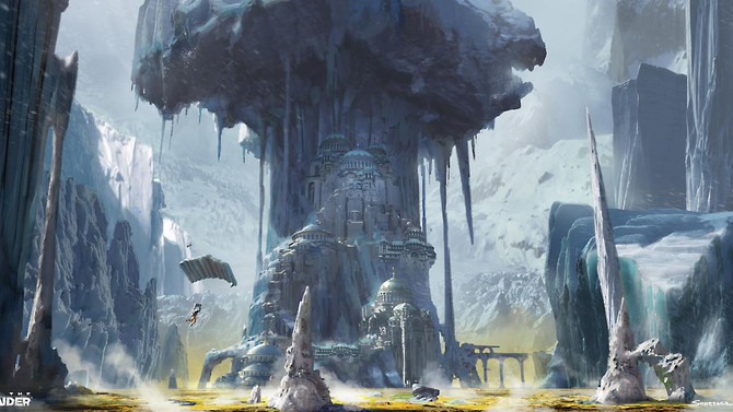 New concept arts of Rise of the Tomb Raider