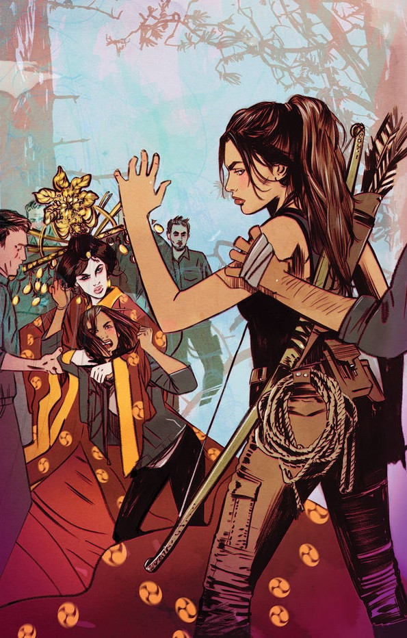 New cover for Tomb Raider II #12