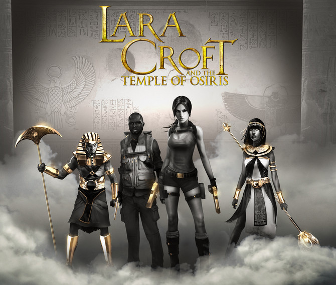 New artwork for Lara Croft and the Temple of Osiris