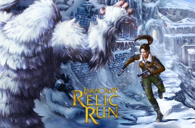 New Trailer and Promotional art of Lara Croft Relic Run - Mountain Pass