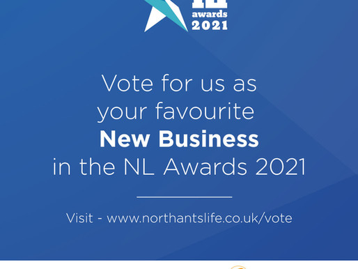 Our First Award Nomination!