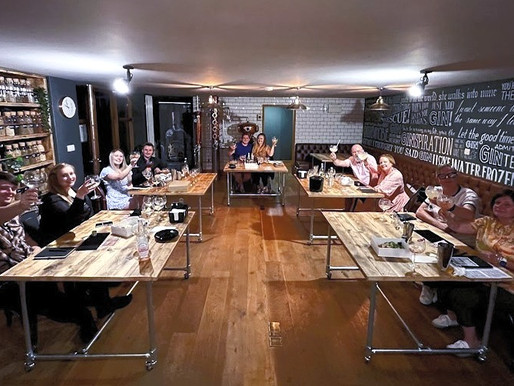 Shaking It Like Tom Cruise: Silverstone Distillery's First Cocktail Masterclass