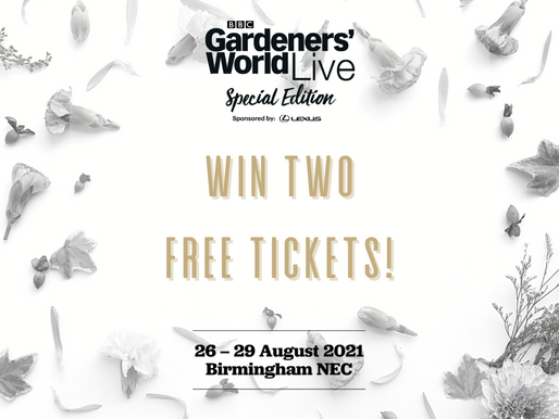 WIN A Free Pair Of Tickets To Gardener's World Live