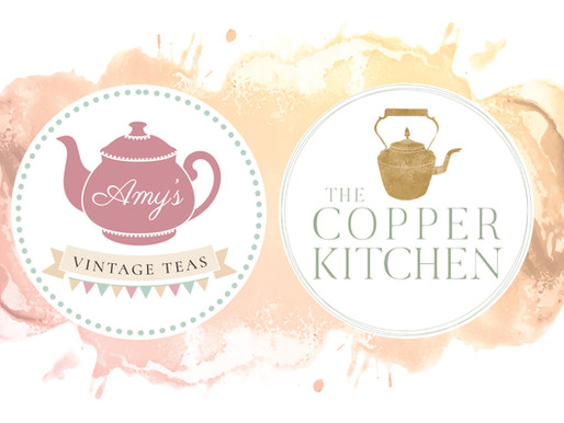 G&Tea with The Copper Kitchen and Amy's Vintage Teas