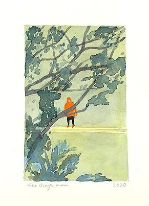 Kong Chun Nga, The Orange Man, 2020, 16.