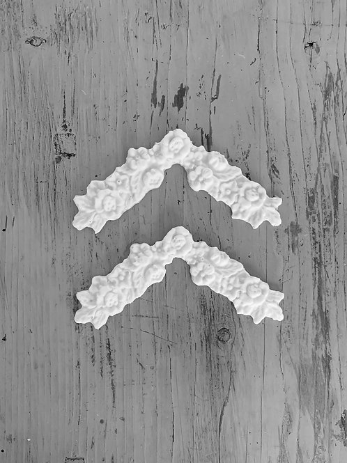 Vintage Arched Rose Corners (2)