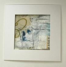 Abstract op papier
