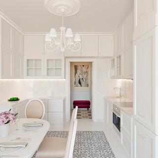 Кухонная и столовая зона