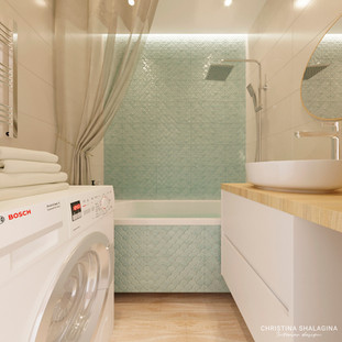 Интерьер ванной в современном стиле