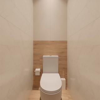 Интерьер туалета в современном стиле