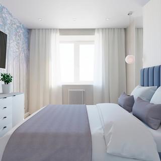 Спальня мужская