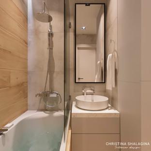 Ванная комната с подсветкой