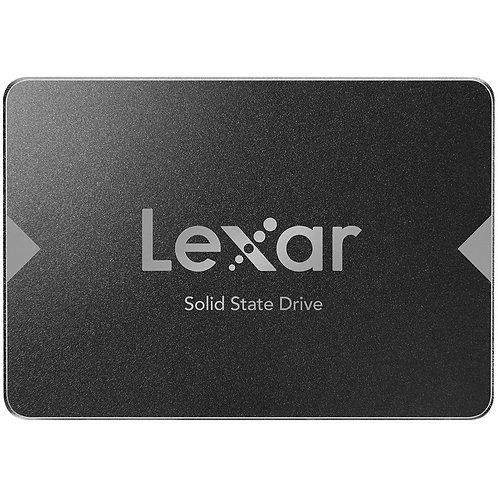 cópia de SSD Lexar NS100, 128GB, SATA, Leitura 520MB/s - LNS100