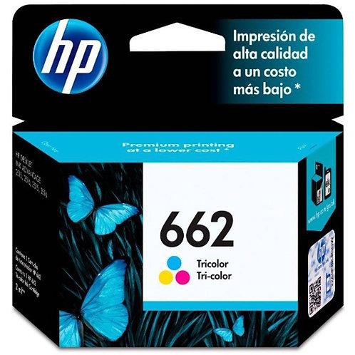 Cartucho HP 662 colorido Original 2ML CZ104AB