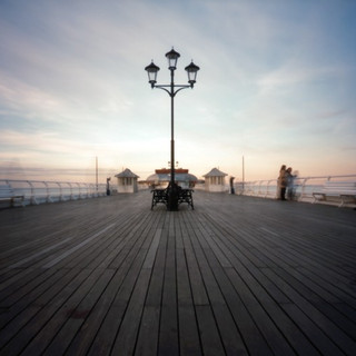 Cromer pier deck