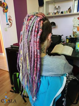 13 mai 2019 Laetitia Billon pose dreads