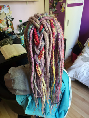13 mai 2019 Laetitia Billon pose dreads
