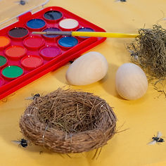 Decorate Your Own Wooden Easter Egg