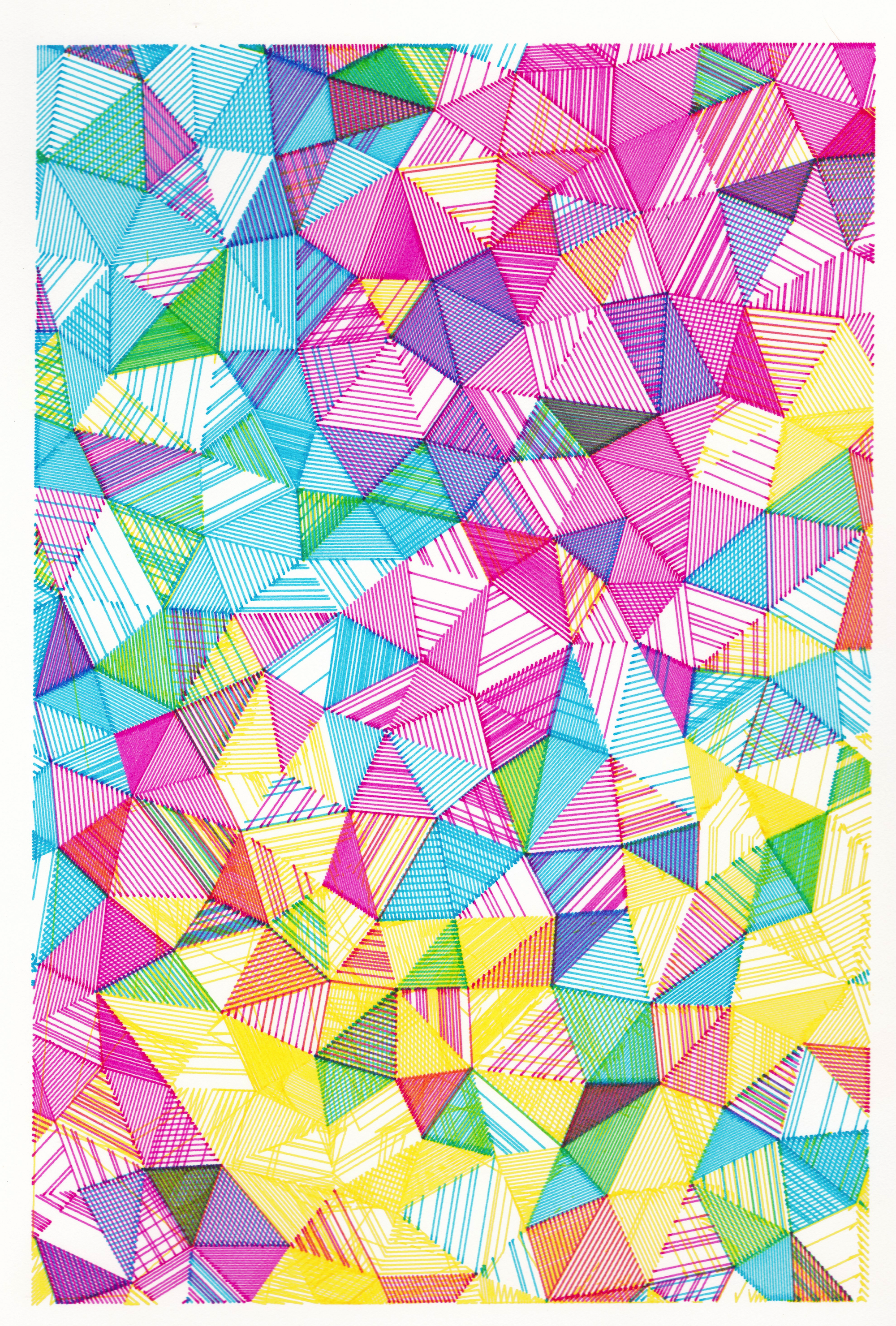 Triangle Cascade - 1
