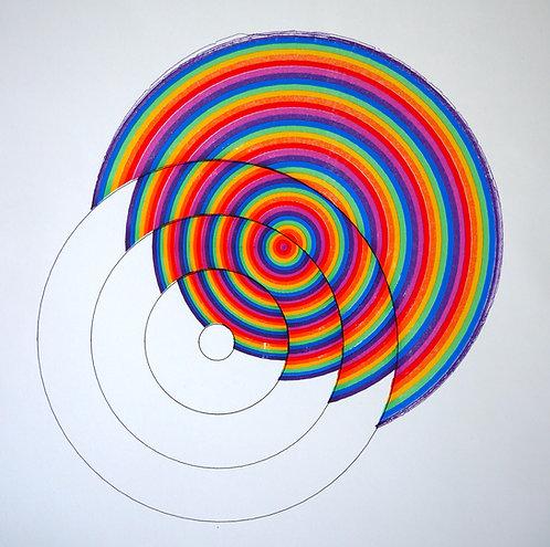Circles on Circles - Poster