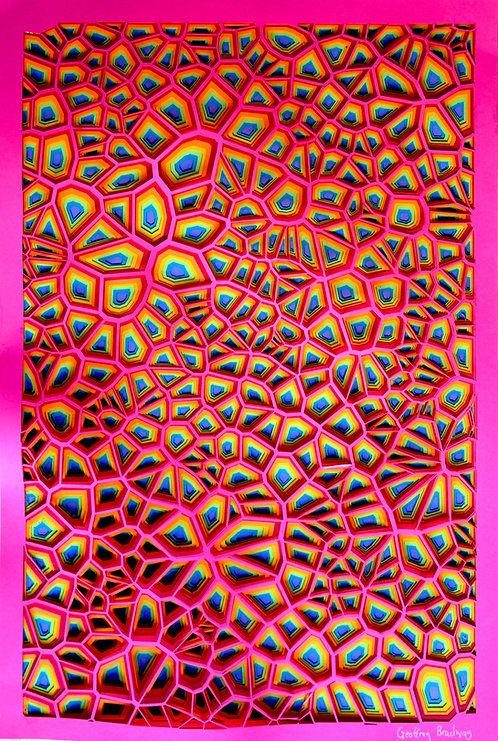Rainbow Paper Sculpture