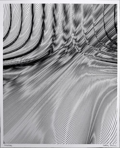 Metalic Surface - Framed poster