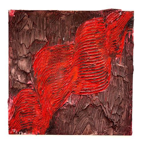 The Art is made of Lava - Framed Original