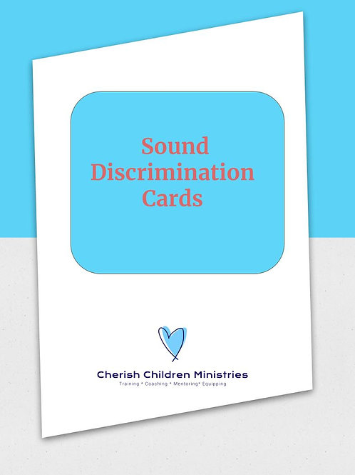 Sound Discrimination & Auditory Processing Pack